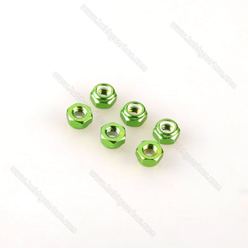 Colorful Nylon Lock Nut Aluminum For Drone