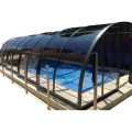 Swimming Tent Glass Automatic Retractable Pool Cover