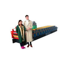 Very popular double layer roof forming rolling machine