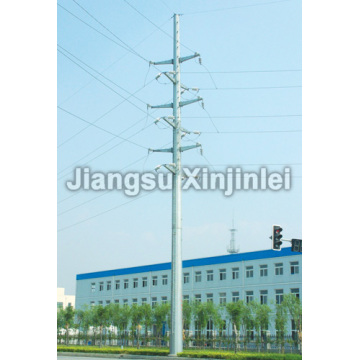 35kV Double Circuit Steel Poles