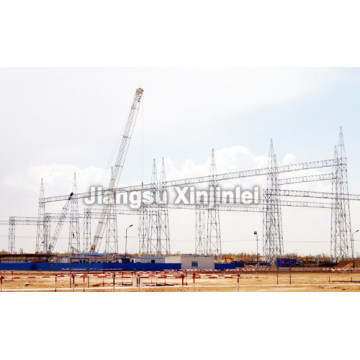100% Original for China Substation Structure, Substation Steel Structure, Steel Tubular Substation Structures Suppliers and Manufacturers 750kV Substation Steel Structure export to Zimbabwe Supplier