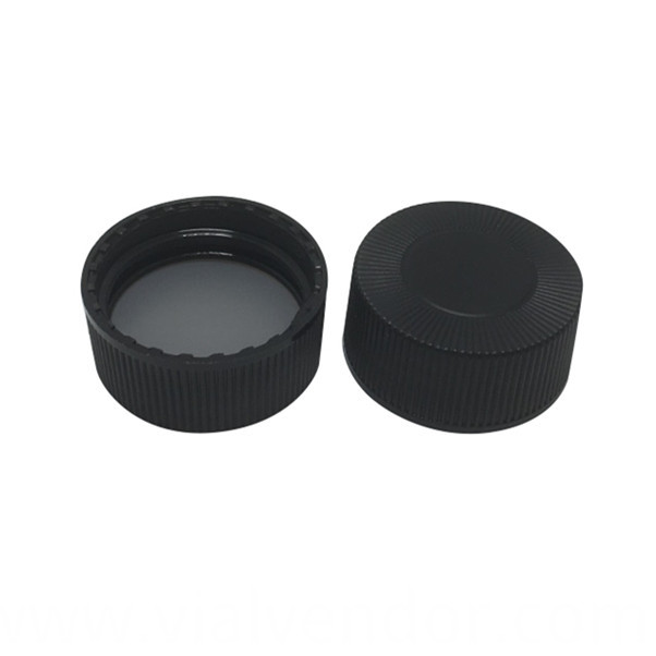 Black Cap For Storage Vial