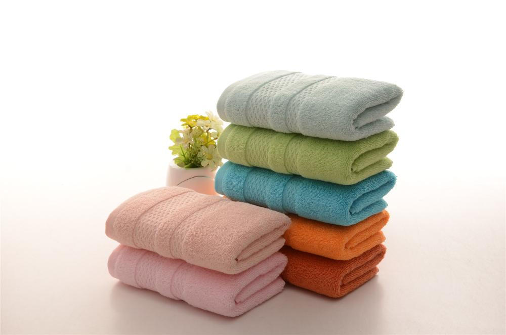 Brown Navy Blue Hand Towels Used for Men&Kids