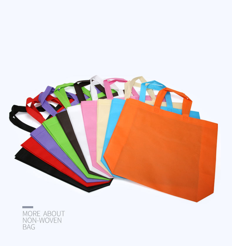 Bright color non woven totes