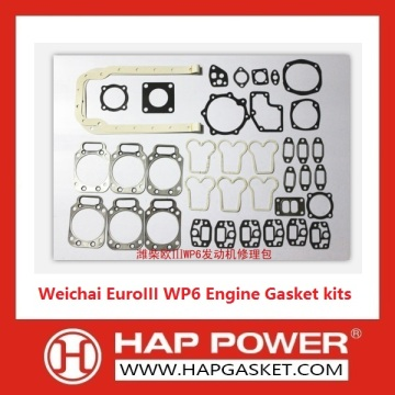 Factory directly for China Gasket Set,Head Gasket Set,Engine Complete Gasket Set,Repair Gasket Set Manufacturer Weichai WP6 Engine Gasket kits EuroIII supply to Zimbabwe Supplier