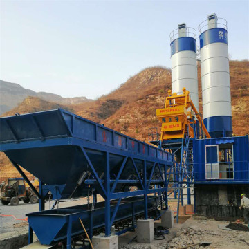 Container control system durable concrete batching plant