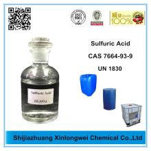 Factory directly provided for Mining Chemicals Sulfuric Acid Sulphuric Acid H2SO4 93% to 98% export to Germany Importers