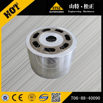 BLOCK ASS'Y,REAR 708-2L-06370 for PC600-7 hydraulic pump spare parts