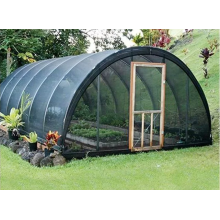 Black Plastic Sun Shade Net For Fish Farm