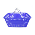 Supermarket Small Plastic Carry Shopping Basket with Handle