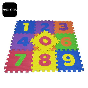 Interlocking Kids Educational Math Number Puzzle Mat