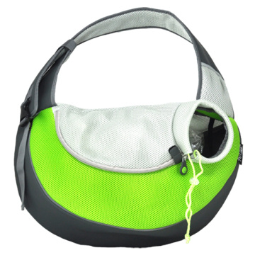 China for Lilac Pet Backpack Green PVC and Mesh Pet Sling for Dogs export to South Korea Manufacturers