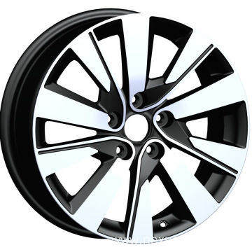 Black Machined Face KIA Replica Rims