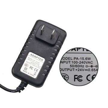24V 0.65A AC/DC Switching Adapter Charger US