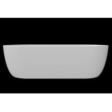Simple matte stone pure resin countertop sink for hotel