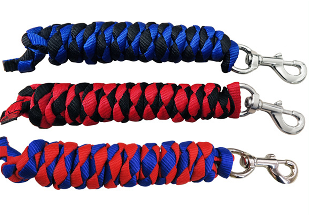 polypropylene horse lead rope