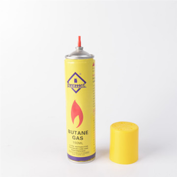 Butane gas refill canister filling adapter