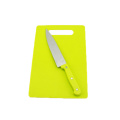 Green Rectangle PP board w/o knife