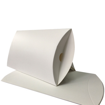 Wholesale Custom White Kraft Paper Pillow Box