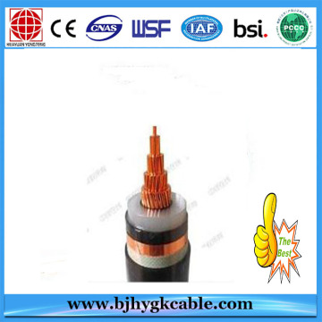6KV Copper Conductor XLPE Isolado Cabo blindado