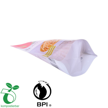 Stand Up side Gueest Compostable Plastic Retort bag