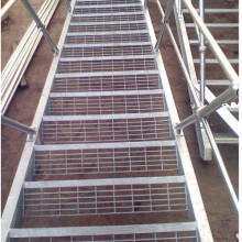 Galvanized Steel Bar Grid Stairs
