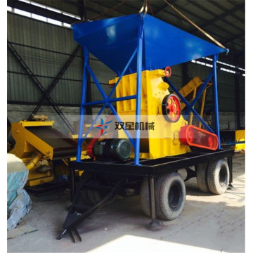 Scrap Industrial Mobile Crushing Equipment