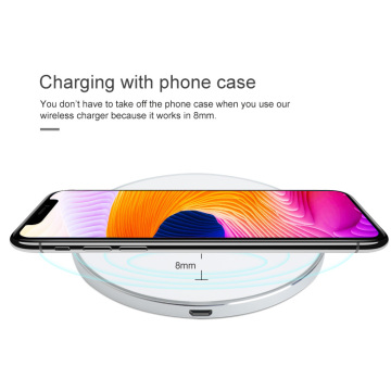 Fast Wireless Charger For Samsung Note iPhone 8