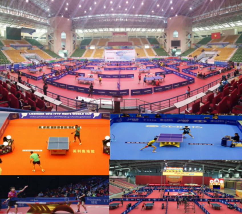 Table Tennis PVC Sports Flooring 1