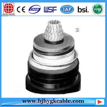 76/132kV 1Cx800mm2 Aluminum conductor XLPE insulated power cable
