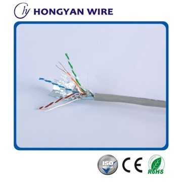 Customized for UTP Cat 5e Network Cable shield cat5e cable solid bare copper export to Egypt Factory