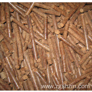 Bamboo Particle Biomass Fuel