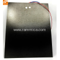 Etched foil far infrared mica heating film