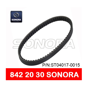 SCOOTER DRIVE BELT V BELT 842 x 20 x 30 MOTORCYCLE V BELT (P/N:ST04017-0015) ORIGINAL QUALITY
