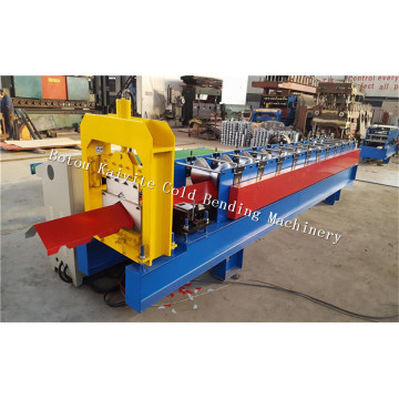 Metal Triangular Roof Ridge Cap Roll Forming Machinery