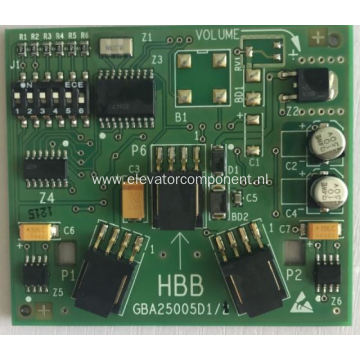 HBB Board for OTIS Elevator LOP HPI GBA25005D1