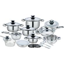21 Pcs Cookware Set with Fish Shape Handles