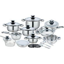 21 Pieces Cookware Set with Fish Shape Handles