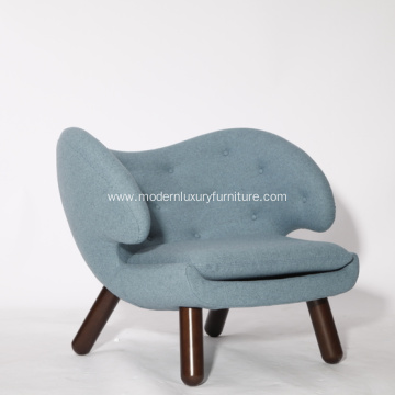 Good Quality for Living Room Leather Lounge Chairs Cashmere Finn Juhl Pelican Lounge Chairs supply to United States Exporter
