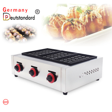 Fish ball grill takoyaki machines with stainless steel