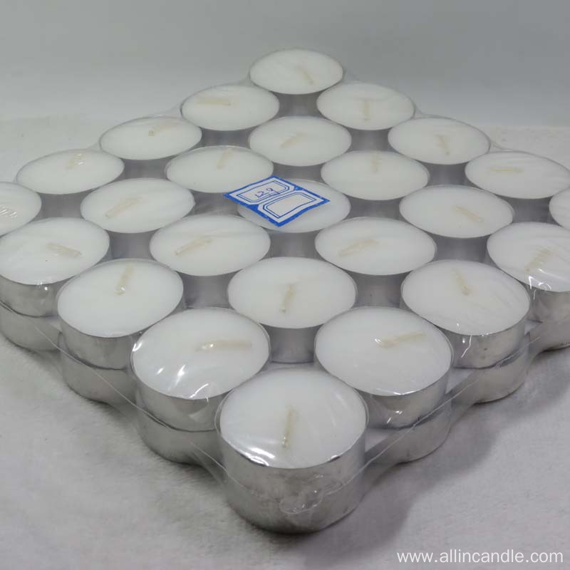 Cheapest price alum cans Unique tealight candle