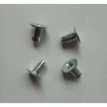 Screw in full thread without hole nuts