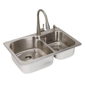 Excellent quality price for Stainless Steel Commercial Sink Stainless Steel 304 Kitchen Double Sink Square Shape supply to French Southern Territories Factory