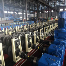 W beam guardrail machine