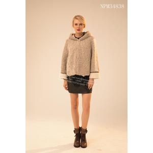 Short Winter Lady Merino Shearling Jacket
