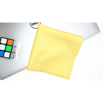 thick suede microfiber jewelry cleaning cloth