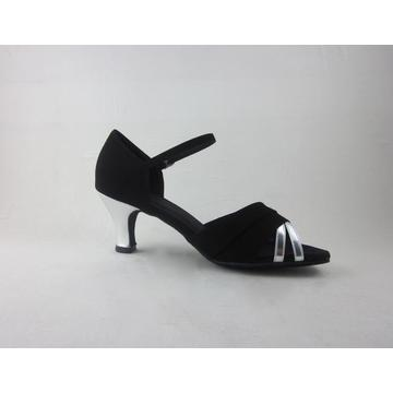 Silver latin shoes for ladies