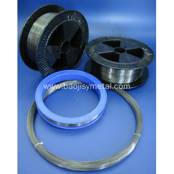 Vacuum Evaporator Coating Polished Tungsten Wire in Spool