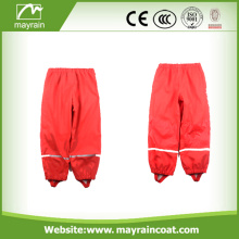 Waterproof PU Children Rain Bib Pants