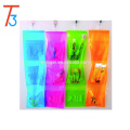 3 pockets Waterproof PVC hanging wall pocket organizer
